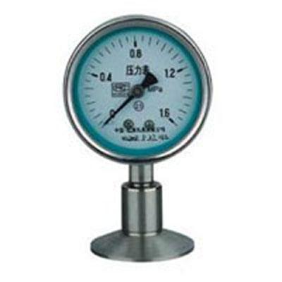 Y-100BFZ/Z/MC抗振型衛生型隔膜式壓力錶
