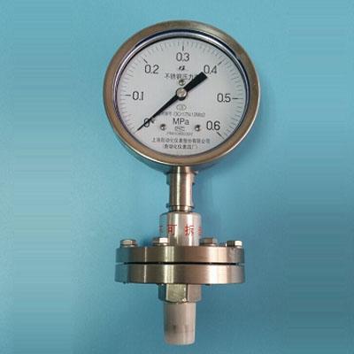 Y-100A/Z/MF(B)316不鏽鋼隔膜壓力錶