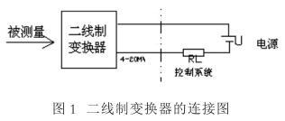 二線制變換器的連接圖