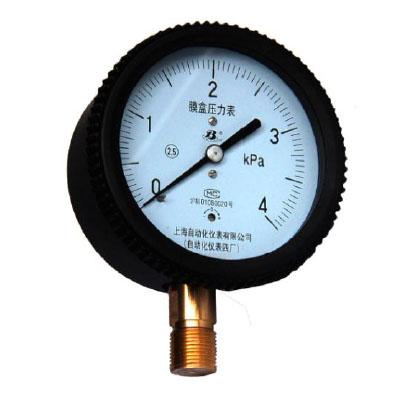 YE-75膜盒壓力錶