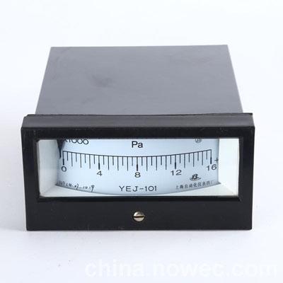 YEJ-101矩形膜盒壓力錶