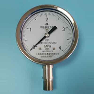 Y-100B-FZ不鏽鋼防腐耐震壓力錶