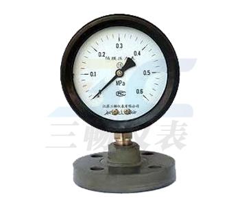防強腐全塑隔膜壓力錶