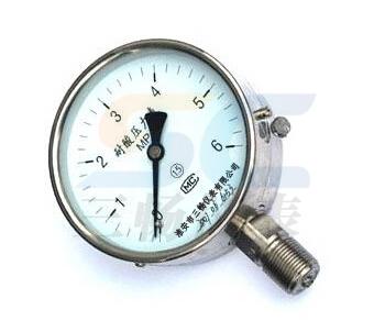 耐酸壓力錶