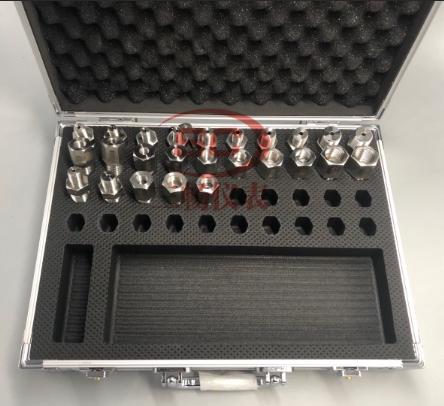 不鏽鋼壓力錶轉換接頭(25件套)